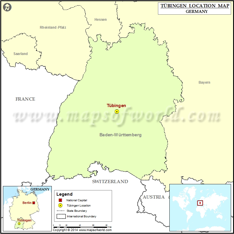 Where is Tubingen