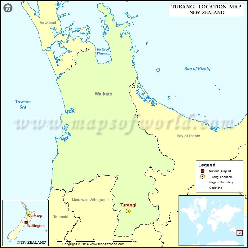 Where is Turangi