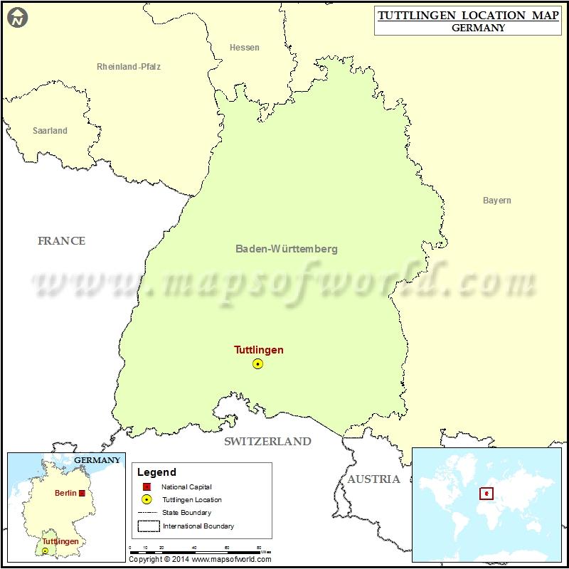 tuttlingen karte deutschland Where is Tuttlingen | Location of Tuttlingen in Germany Map