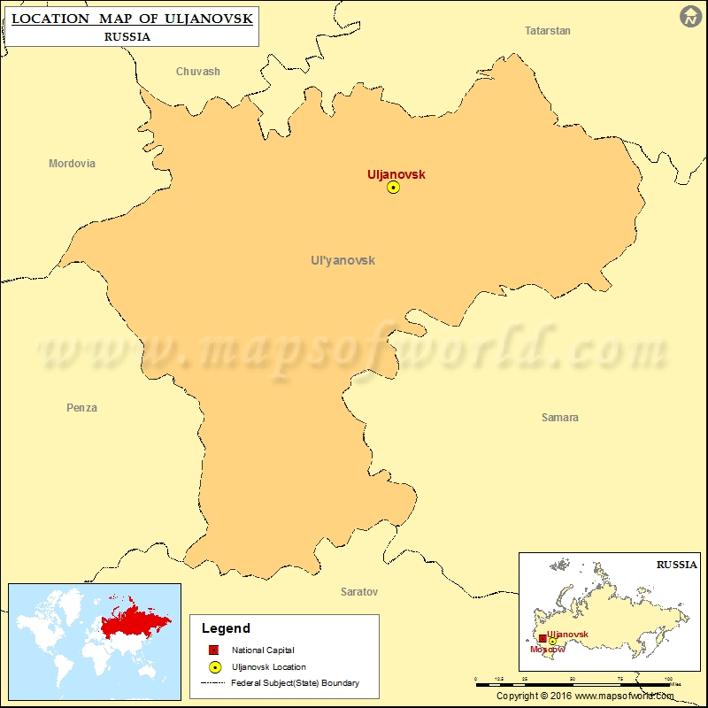 Where is Uljanovsk