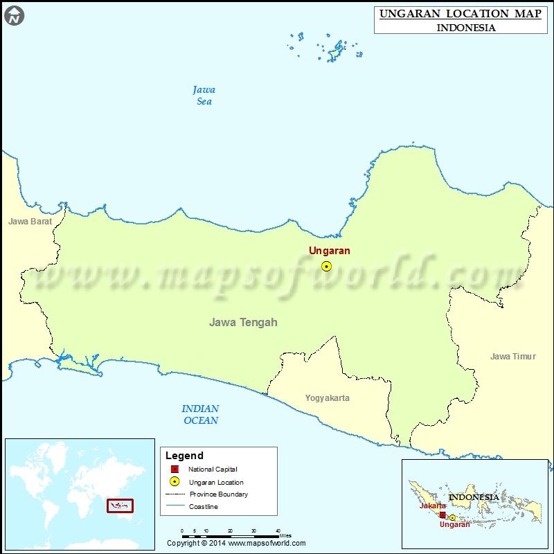 Where is Ungaran