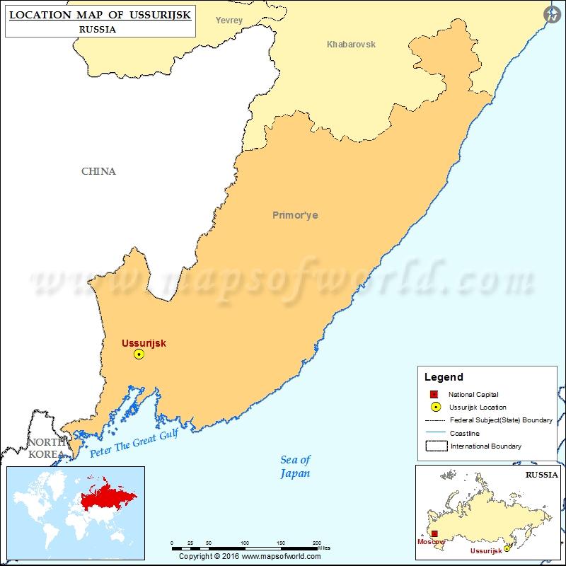 Where is Ussurijsk