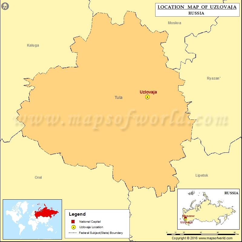 Where is Uzlovaja