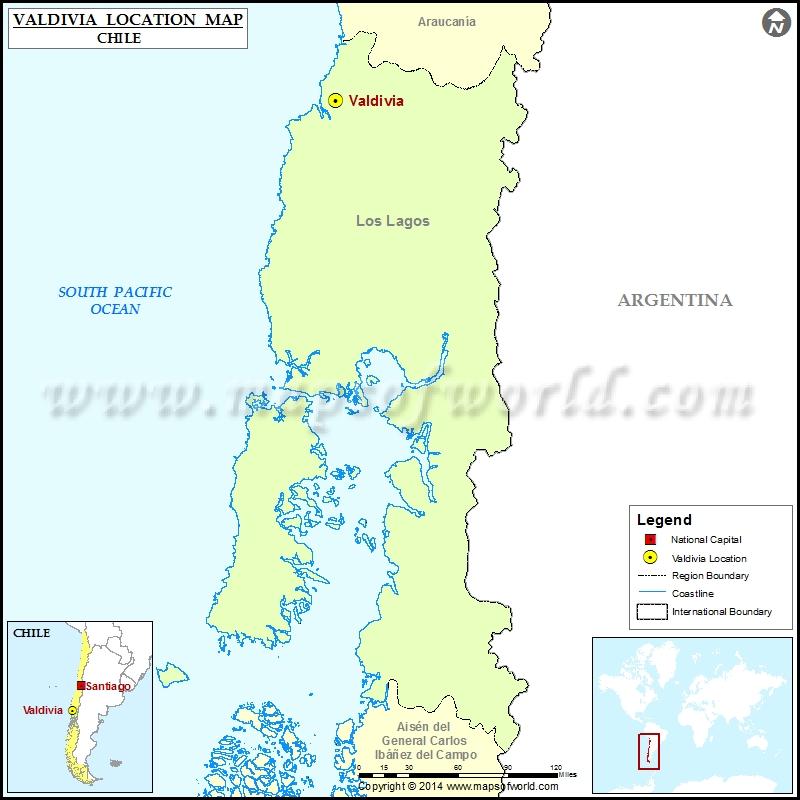 Where is Valdivia