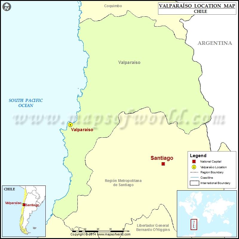 Where is Valparaiso