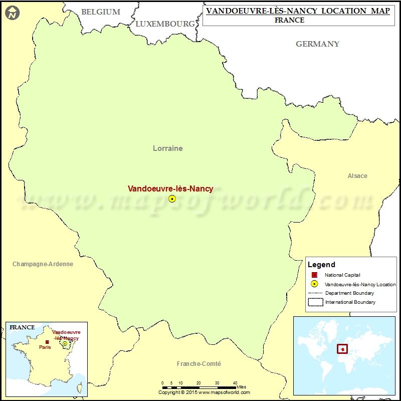 Where is Vandoeuvre-les-Nancy