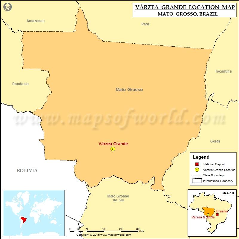 Where is Varzea Grande