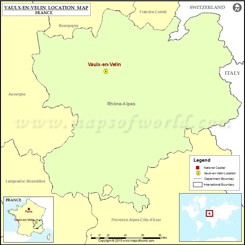 Where is Vaulx-en-Velin