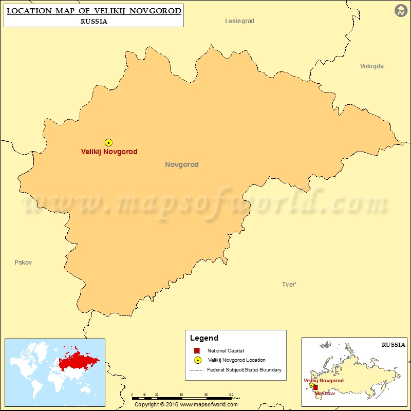 Novgorod Russia Map.Where Is Velikij Novgorod Location Of Velikij Novgorod In Russia Map