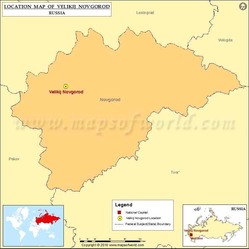 Where is Velikij Novgorod