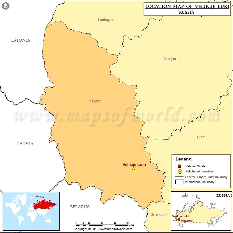 Where is Velikije Luki