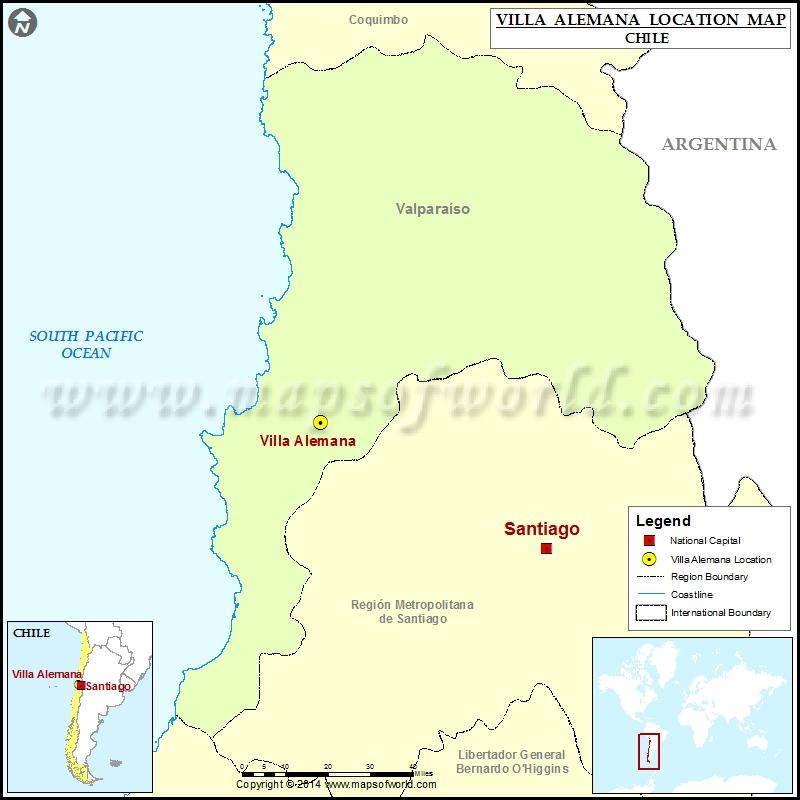 Where is Villa Alemana