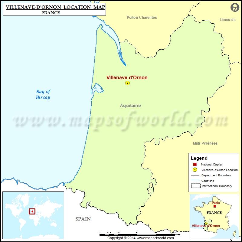 Where is Villenave-d Ornon