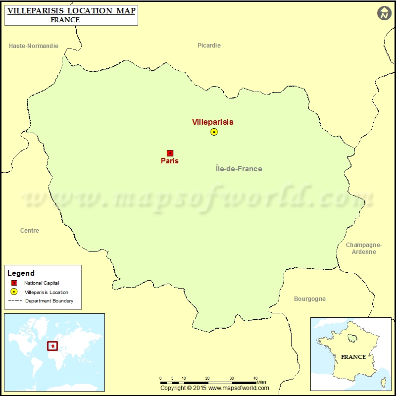 Where is Villeparisis