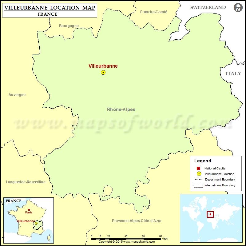 Where is Villeurbanne