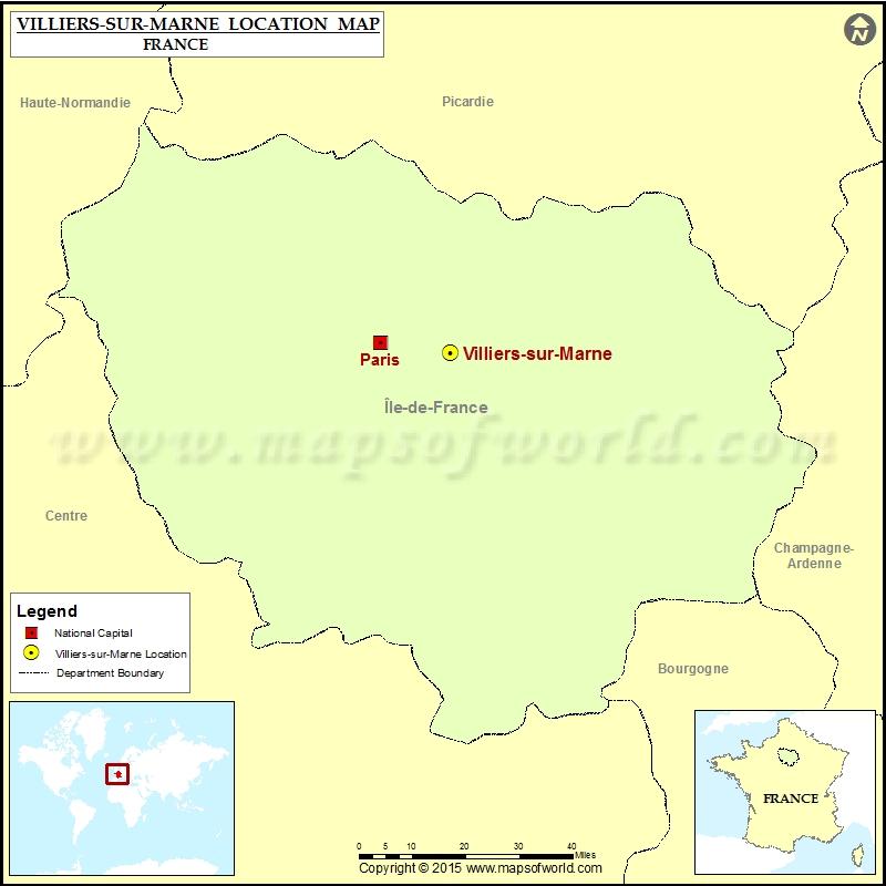Where is Villiers-sur-Marne