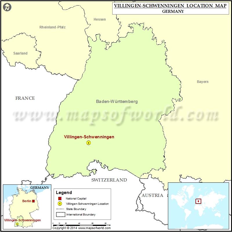 Where is Villingen-Schwenningen