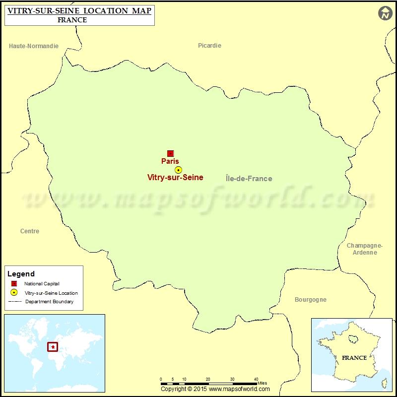 Where is Vitry-sur-Seine