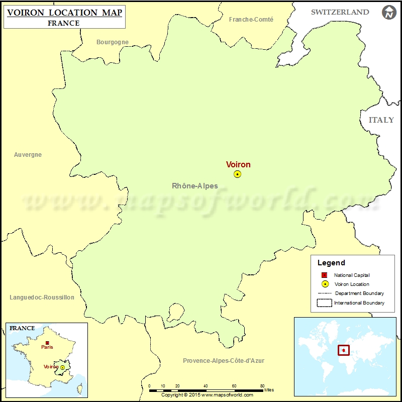 Where is Voiron