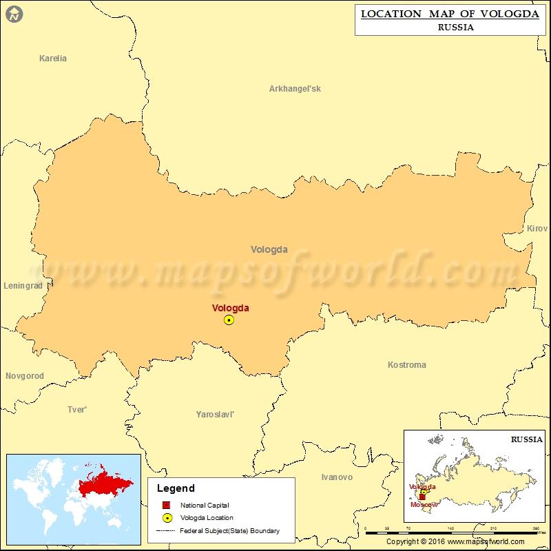 Where is Vologda