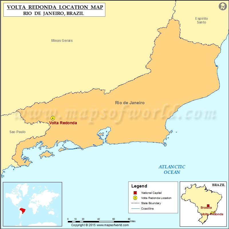 Where is Volta Redonda