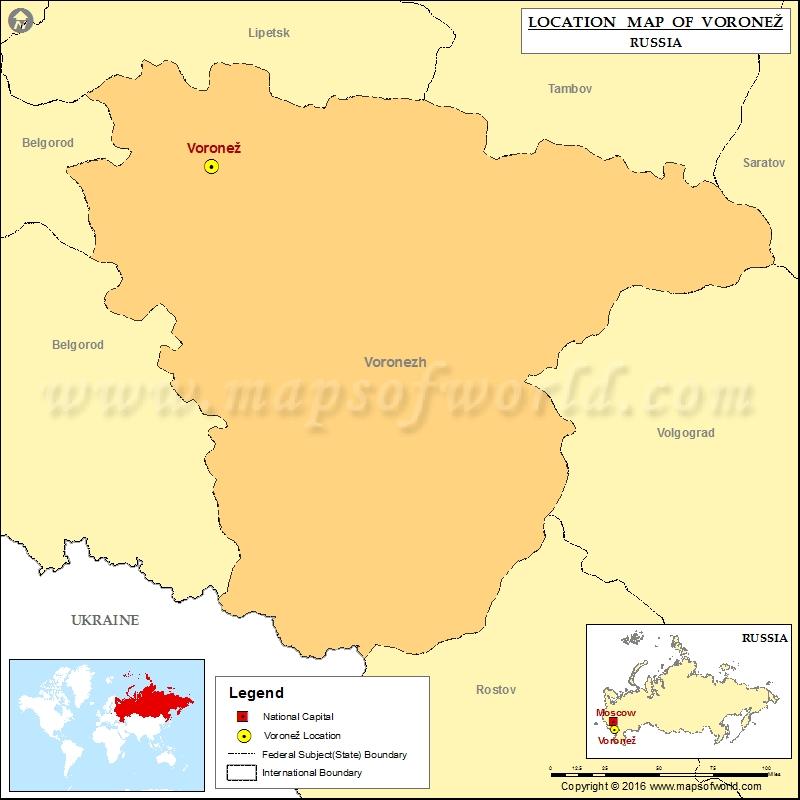 Where is Voronez