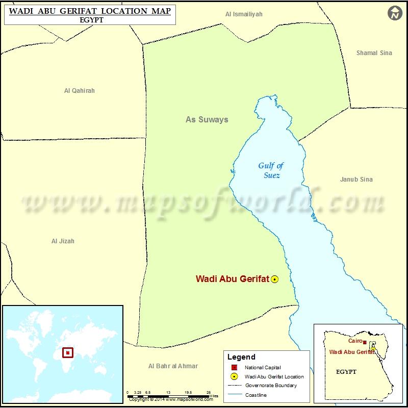 Where is Wadi Abu Gerifat