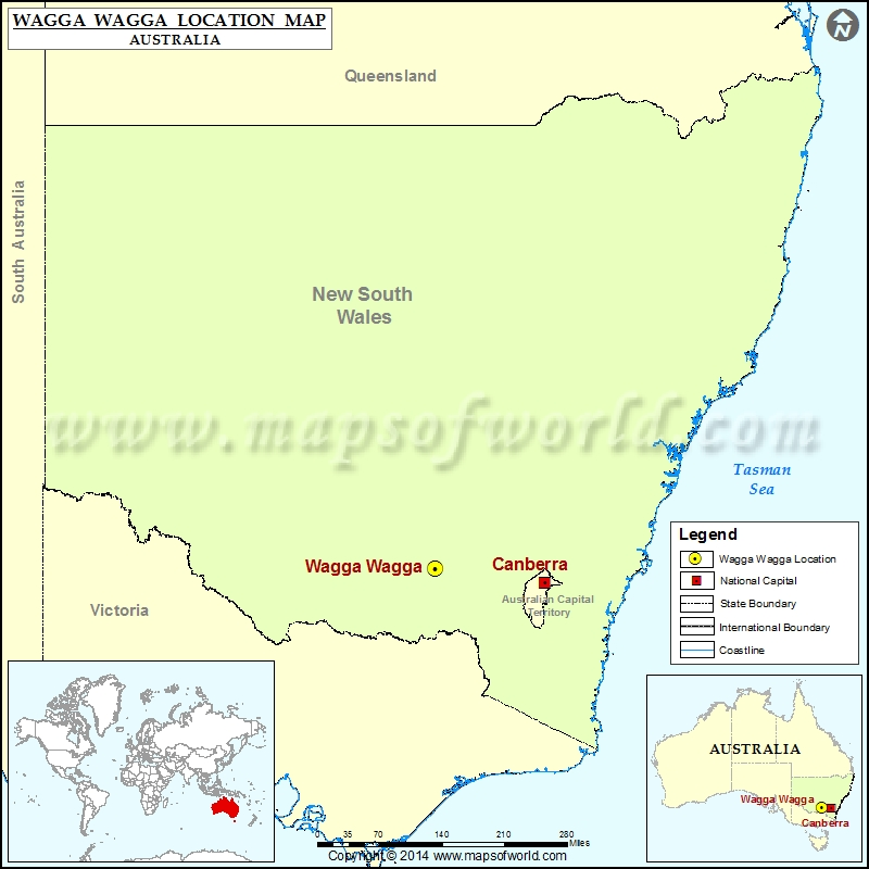 Where is Wagga Wagga