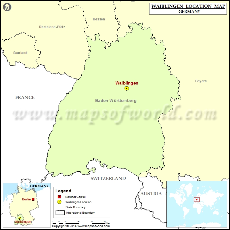 Where is Waiblingen
