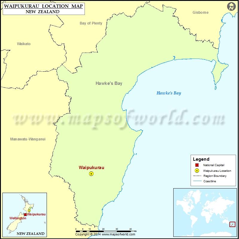 Where is Waipukurau