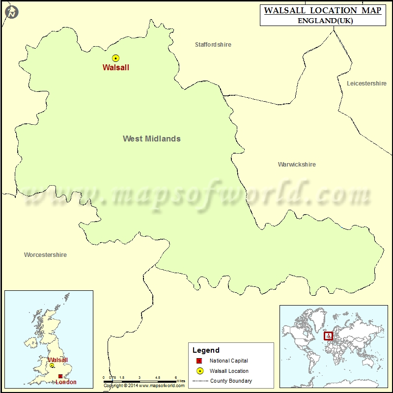 Where is Walsall