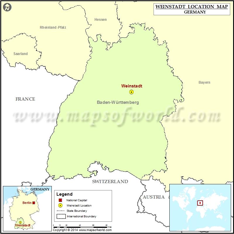Where is Weinstadt