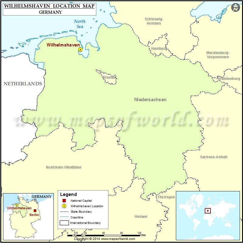 Where is Wilhelmshaven