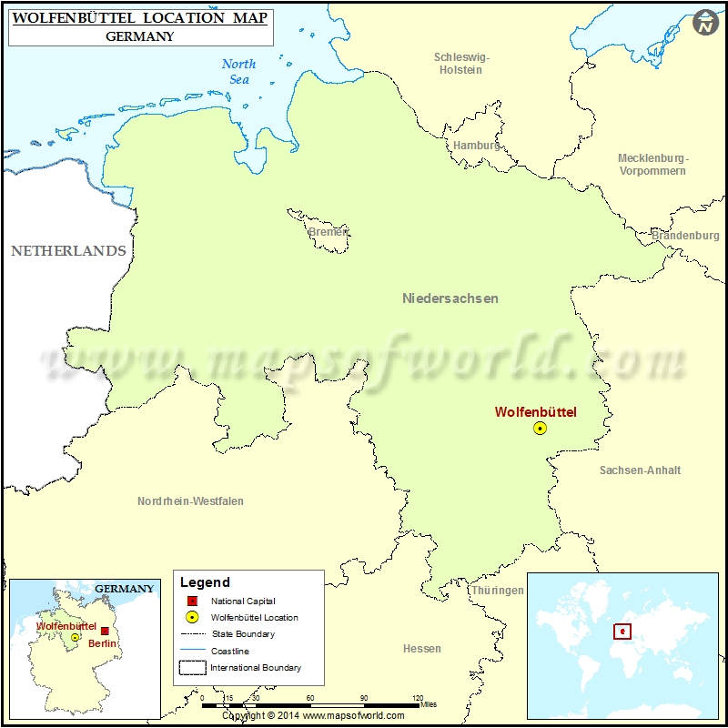 Where is Wolfenbuttel