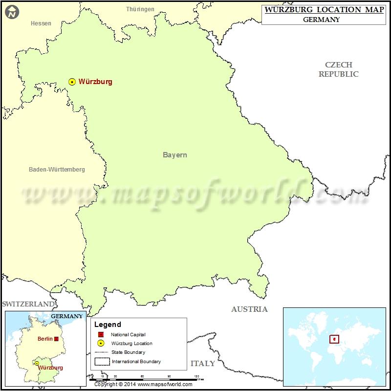 Where is Wurzburg
