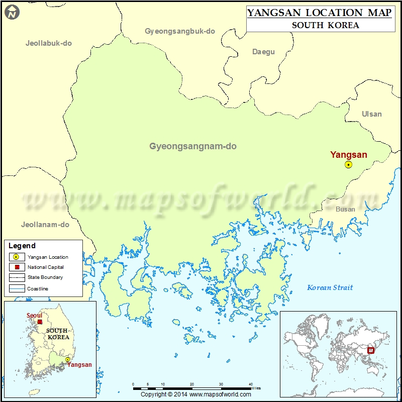 Where is Yangsan