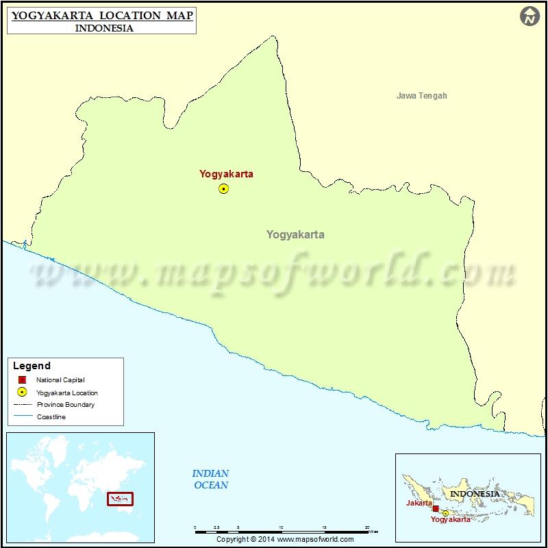 Where is Yogyakarta