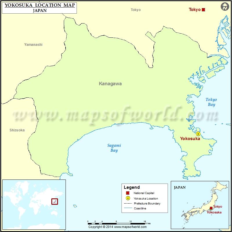 Where Is Yokosuka Location Of In Japan Map: Yokosuka Japan Map At Infoasik.co