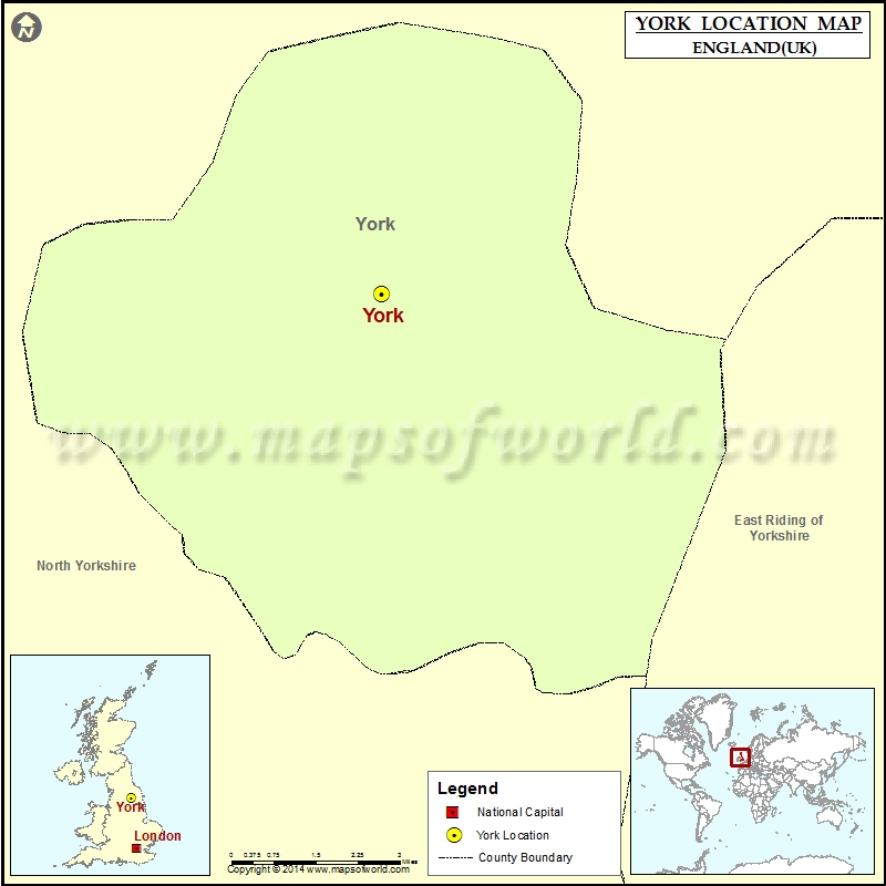 Map Of England Showing York.Where Is York Location Of York In England Map