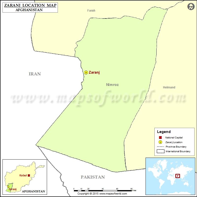 Where is Zaranj