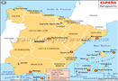 Mapa Aeropuertos España