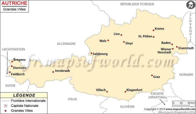 Las ciudades en Austria