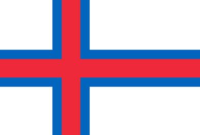 Bandera de las Islas Feroe