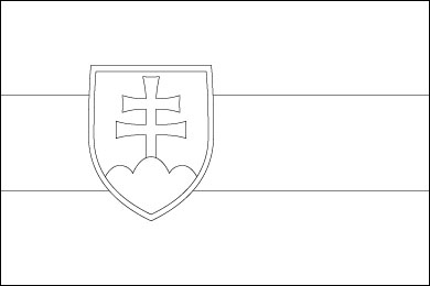 slovakia-flag-outline
