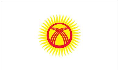 kyrgyzstan-flag-outline