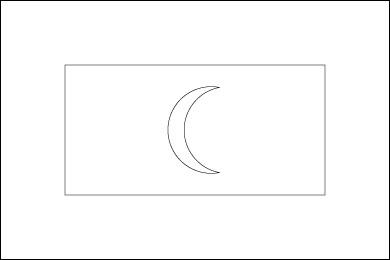 maldives-flag-outline