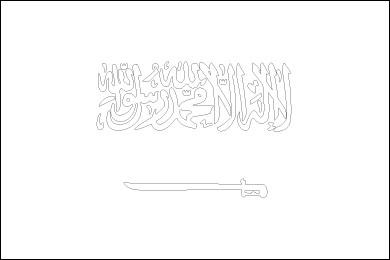 saudi-arabia-flag-outline