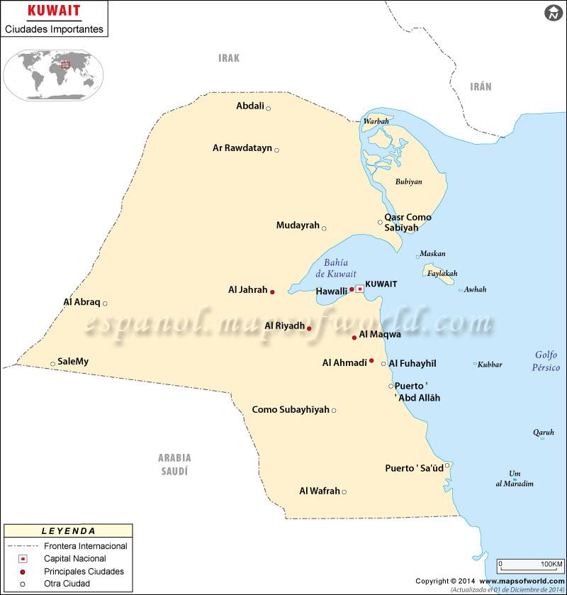 Ciudades en Kuwait