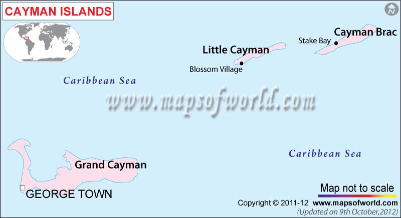 cayman-island-political-map