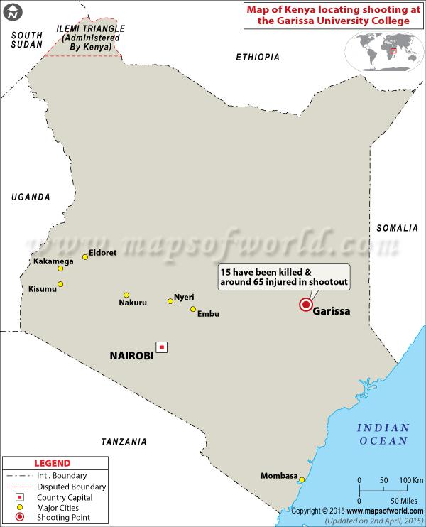 Tiroteo en el Colegio Universitario de Garissa, Kenia